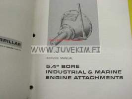 Caterpillar 3406 Industrial and Marine Engines (serial numbers 90U, 91U) -teollisuus ja merimoottorit