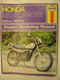 Honda 250 Elsinore 248ccm 1973 on workshop manual