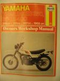 Yamah Trail bikes 250, 360, 400, 246,351,397cc 1968 alkaen owners manual