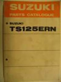 Suzuki TS125ERN parts catalogue varaosaluettelo