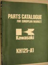 Kawasaki KH125-A1 parts catalog