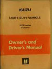 Isuzu Light-Duty vehicle VFR (Europe) owner´s manual