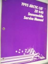 1995 Arctic Cat zr 440 Snowmobile Service Manual