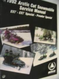1992 Arctic Cat Snowmobile Service Manual Super EXT - EXT Special - Prowler Special