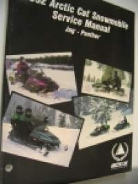 1992 Arctic Cat Snowmobile Service Manual Super Jag - Panther