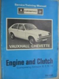 Vauxhall Chevette Service Training Manual Engine and clutch