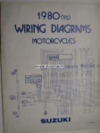 Suzuki 1980 1/2 Wiring Diagrams