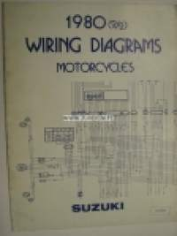 Suzuki 1980 2/2 Wiring Diagrams