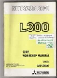 Mitsubishi L 300 - Workshop manual  - Chassis Supplement