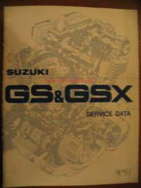 Suzuki GS & GSX Service data (-february 1980)