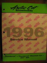 Arctic Cat 1996 Thundercat - Thundercat Mountain Cat - ZRT 800 Service manual