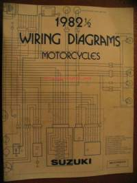 Suzuki Motorcycles 1982 1/2 Wiring Diagrams