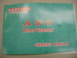 Herchee Motor Scooter ATV road version owner´s manual - käyttöohjekirja