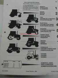 Case International Harvester 3210, 3220, 3230 traktori varaosaluettelo