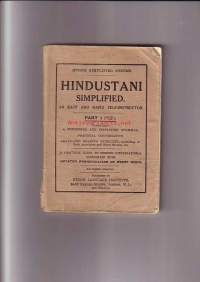 Hindustani Simplified - An Easy and Rapid Self-instructor - Part 1
