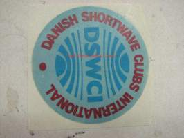 Danish shortwave clubs international -tarra