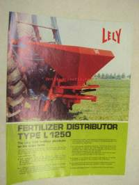 Lely fertilizer distributor L 1250 -myyntiesite