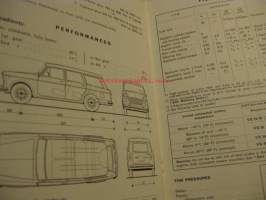 Fiat 1100  D Sedan and Family - Instruction book