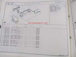 Honda Brush cutter UMK422, UMK431 Parts catalogue 1 -varaosaluettelo