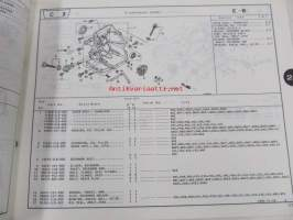 Honda General purpose engine GC135, GC160 Parts catalogue 2 -varaosaluettelo