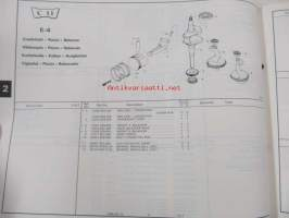 Honda General purpose engine GXV340 Parts catalogue 2 -varaosaluettelo