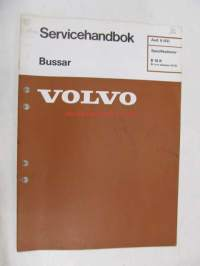 Volvo Bussar Specifikationer B 10 R fr o m chassinr 4173 -  Avd. 0 (03)