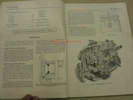 Vauxhall Service Training Manual Series PA 138 cu.in.; Gasoline engine & clutch