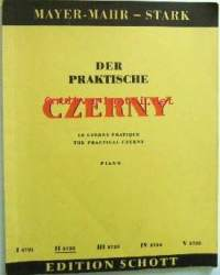 Der praktische Czerny. Le czerny pratique. The practical Czerny. Piano. ED 3722 II Unterstufe. II Degré élémentaire. II Lower Grade