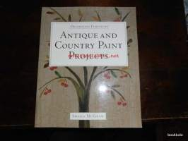 Antique and country paint projects