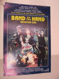 Band of the Hand - Armoton käsi -elokuvajuliste, Stephen Lang, James Remar, Paul Michael Glaser