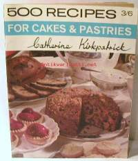 500 recipes forcakes &pastries