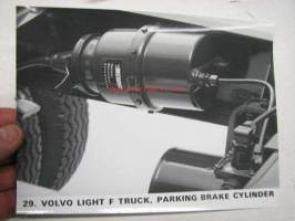 Volvo Light F-truck parking brake cylinder -valokuva