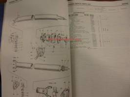 BMC commerial vehicle types FH K 160 - Chassis service parts list