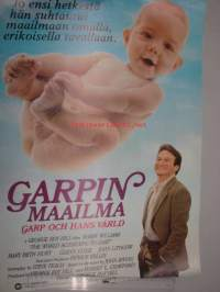 Garpin maailma - Garp och hans värld -elokuvajuliste, Robin Williams, Mary Elisabeth Hurt, George Roy Hill