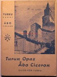 Turun opas - Åbo Ciceron Guide for Turku (1947)