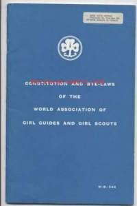 Partio-Scout: Constitution and Bye-Laws of the World association of girl guides and girl scouts