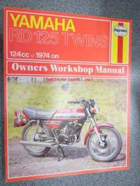 Yamaha D 125 Twins 124 cc 1974 on Haynes Owner´s Workshop Manual -huolto-ohjekirja