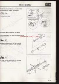 Mitsubishi  Pre-Delivery and periodic - Inspection and maintenance - For trucks and buses