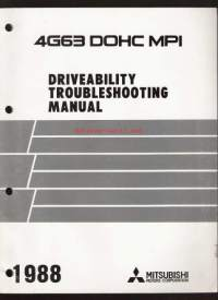 Mitsubishi 4G63 DOHC MPI - Driveability Troubleshooting Manual