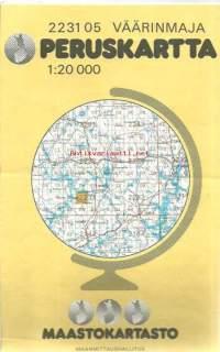 Vaarinmaja 2231 05 Peruskartta 1 20 000 Kartta