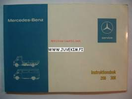 Mercedes-Benz 208 308 -instruktionsbook