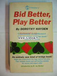 Bid Better, Play Better -Bridgekirja